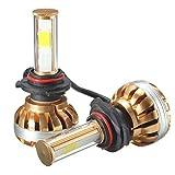 Leuchtturm-Kit Auto, ourmall 90062PCS DV 12V 120W 12000lm 6000K COB LED-Set Leuchtturm weiß denn Leuchtmittel Lampe Licht, Gold