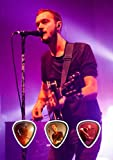 Editors (DW) Live Performance Unframed Gitarre Plektrum Pick Display