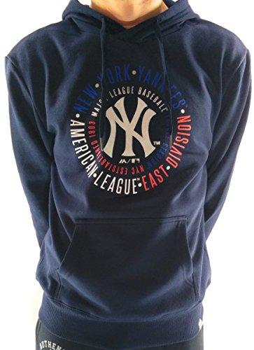 Sudadera Majestic: Graphic MLB Yankees NV M