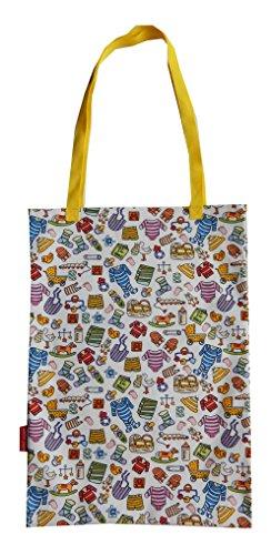 mitierte Auflage Designer Baumwolltasche (Tote Bag) (Baby-dusche-themen Für Zwillinge)