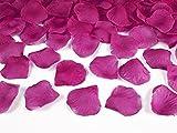 Deko - Rosenblätter zum streuen 100 Stück Hochzeit Tischdeko (dunkles pink)