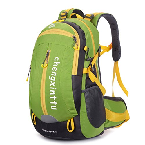 Outdoor L'alpinismo Il Sacchetto Impermeabile In Nylon Spalla Borsa Da Viaggio Borsa Green