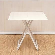 mesa plegable Mesa de Comedor Cuadrada portátil Mesa de Comedor Mesa de Comedor en casa Mesa