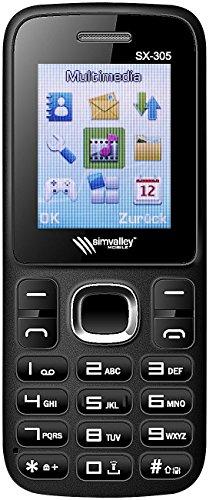 Simvalley Mobile Tastenhandy: Dual-SIM-Handy SX-305 mit Bluetooth VERTRAGSFREI (simlockfreie Handys)
