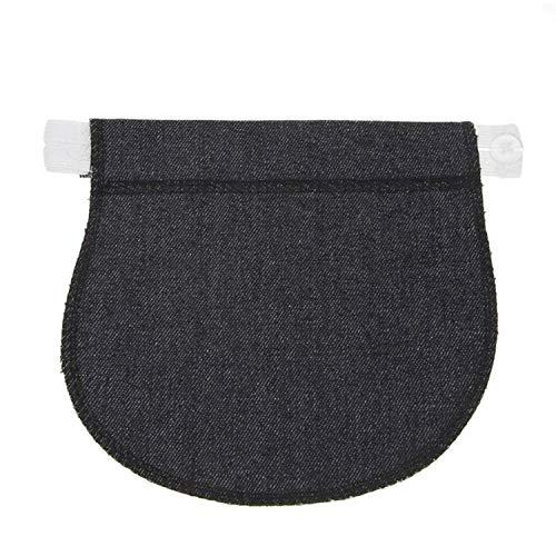 Sunonvi Mutterschaft Schwangerschaft Bund Gürtel verstellbare elastische Hosen verlängerte Taste Hosen verlängerte Taste für Schwangere Frauen - Verlängerter Bund Hose