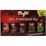 100% Aceites Esenciales–5botellas x a 10ml (Naranja. Sueño de Navidad. Agujas de pino. Eucalipto. Menta) diferentes Sets