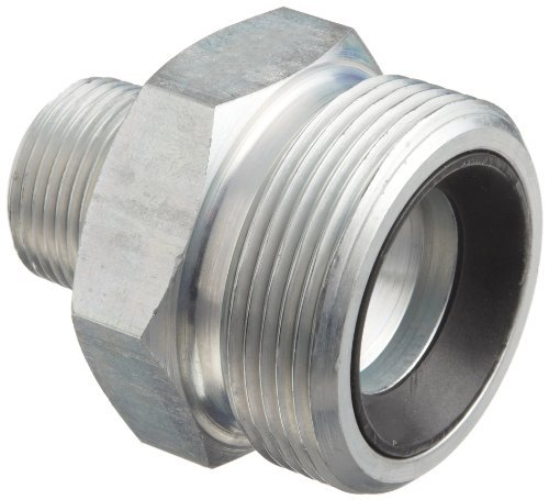 Boss Ground Joint (Dixon Boss GM8 Plated Steel Hose Fitting, Spud for GJ Boss Ground Joint Seal, 3/4 NPT Male by Dixon Valve & Coupling)
