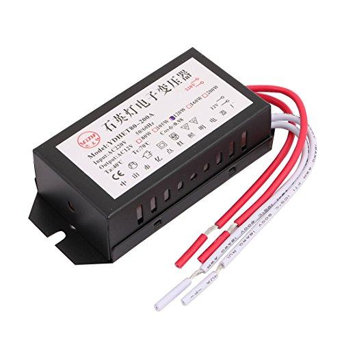 X-Dr Wechselstrom 220V zu Wechselstrom 12V 120W elektronischer Spannungswandler für Kristalllampe (c340c5a38e75d3d9491493e43bc34a2e)