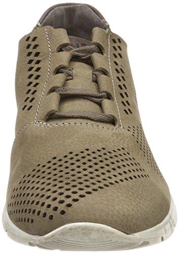 Josef Seibel Herren Tom 33 Sneaker Braun (Taupe)
