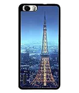 PrintVisa Designer Back Case Cover for Huawei Honor 6 Plus (Night Scene Beautiful Bright City Lights )