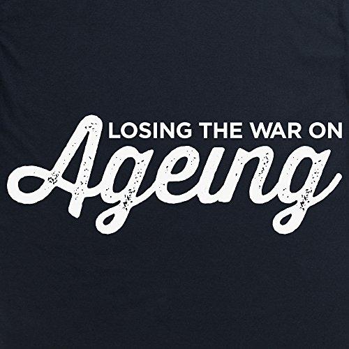 The War on Ageing T-Shirt, Herren Schwarz