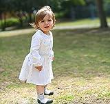 Attipas Cutie (21.5, grau) Kinder Barfußschuhe, ergonomische Baby Lauflernschuhe, atmungsaktive Kinder Hauschuhe ABS Socken Babyschuhe - 7
