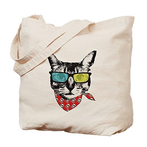 CafePress Tragetasche mit Sonnenbrille, canvas, khaki, S