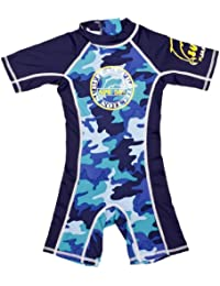 Surfit Baby Boy's Camou Shorty Sunsuit Blue 3 - 6 Months