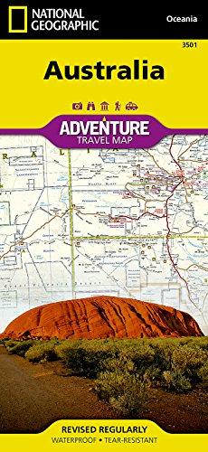 Australia adv. ng r/v (r) wp (Adventure) por National Geographic Maps