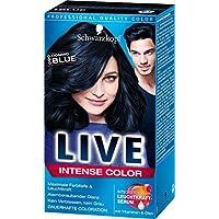 Live Color Intense dauerhafte Coloration, 090 Cosmic Blue, 3er Pack (3 x 1 Stück)
