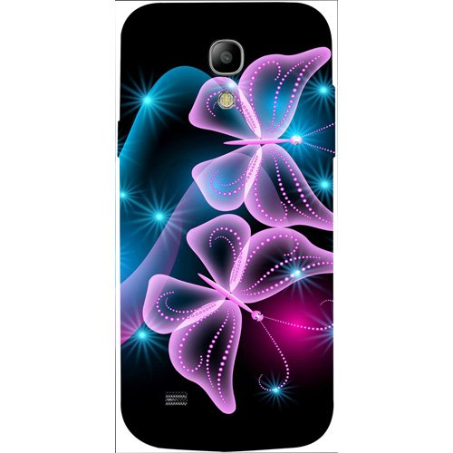 Casotec Butterflies Abstract Design 3D Hard Back Case Cover for Samsung Galaxy S4 Mini