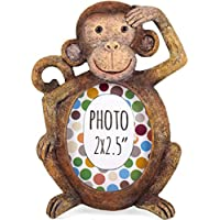 ukgiftstoreonline Gorgeous Monkey resin photo frame