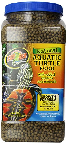 Zoo Med ZM-54E Natural Aquatic Turtle Food, 1.53 kg, Wasserschildkrötenfutter