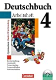 Deutschbuch Gymnasium - Baden-Württemberg - Bisherige Ausgabe: Band 4: 8. Schuljahr - Arbeitsheft mit Lösungen und Übungs-CD-ROM