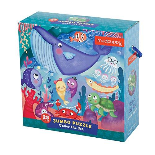 Under the Sea Jumbo Puzzle: 25 Pieces