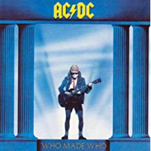 AC/DC WHO MADE WHO CD BRAND NEW by AC/DC