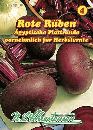 N.L. Chrestensen 426800 Rote Rübe Ägyptische Plattrunde (Rübensamen)