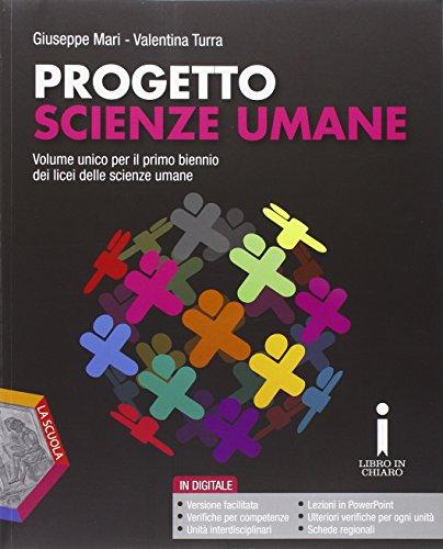 Progetto scienze umane. Per la Scuola media. Con DVD-ROM. Con e-book. Con espansione online