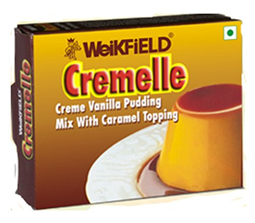 Weikfield Caramel Pudding Mix, 65g