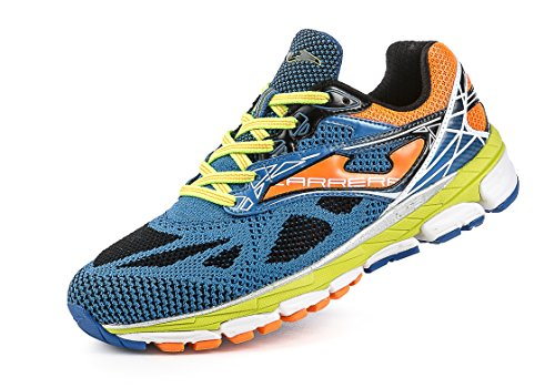 Joma - Carrera, color naranja,azul, talla UK-10.5