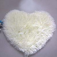 QHGstore A forma di cuore antisdrucciolevole molle Moretta tappeto Mat