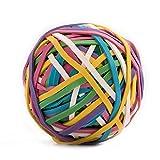 Eagle Boule de bande de caoutchouc, 170Bandes de fréquences par pelote, couleurs assorties