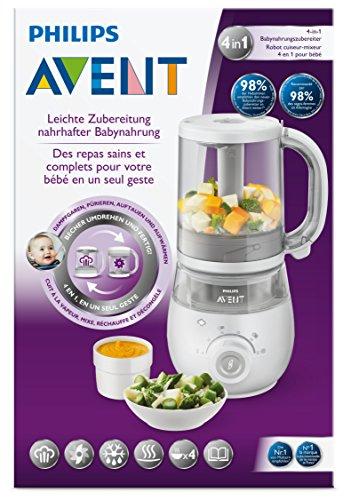 Philips Avent SCF875/02 4-in-1 Babynahrungszubereiter, weiß - 5