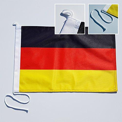 Bootsfahne Deutschland - 30 x 40 cm