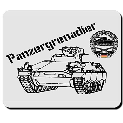 Panzergrenadiere Elite Einheit Militär Marder Panzerfahrzeug Bundeswehr- Mauspad Mousepad Computer Laptop PC #6196