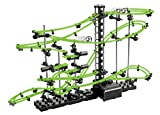 Vinsani [195 PCS 10 Meter Level 2 Glow In The Dark Marble Run Roller Coaster