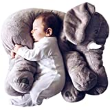 Kiki Monkey Baby Niños almohada Niños Pequeños Dormir elefante Elephant Pillow Stuffed Niño erzier Cojín de peluche animales de peluche 100% algodón 40cm * 37cm * 25cm