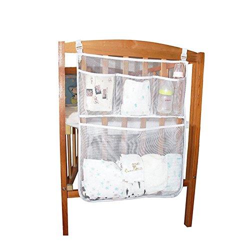 AnziroseHängender Wickel Organizer Aufbewahrungstasche für Windeln Kleider Gewebe Flasche und mehr (Aufbewahrungstasche Kleid)
