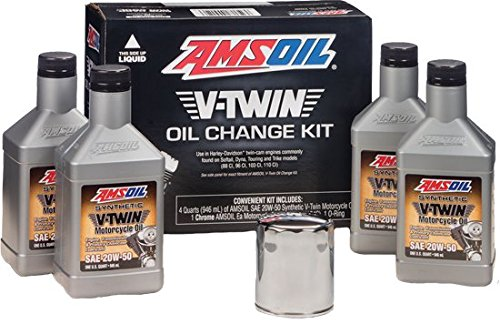 Amsoil Severe Gear 75w 90 Amazon Com >> Amsoil Hdck V Twin Oil Change Kit