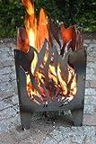 Feuersäule / Feuerkorb FLAMME Gr. XXL aus Stahl - von SvenskaV