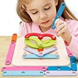 Wooden Activity Letter And Number Sorter Montessori Toys Educational Preschool Shape Color Recognition Geometric Board Block Stack Sort Puzzle Toys For Kids Baby Toddler Boy Girl