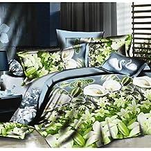 QUILT kiuytghnb Duvet Cover Set, 4 Piezas Traje de Confort Sencillo y Moderno ventilación Impreso