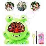 Best Bubble Machine For Kids - Ballery Bubble Machine Automatic Frog Bubble Maker, High Review