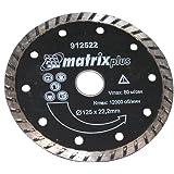 AERZETIX: Disco de diamante para amoladoras angulares de corte tejas, ladrillos, baldosas cerámicas 125mm