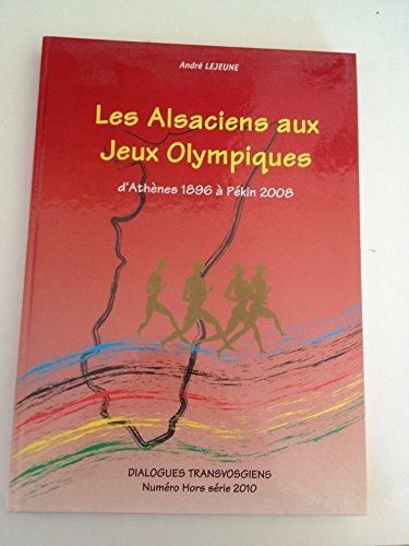 Les Alsaciens aux Jeux Olympiques
