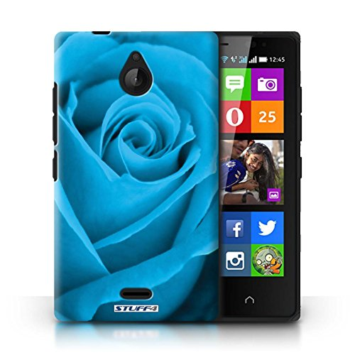 Kobalt® Imprimé Etui / Coque pour Nokia X2 Dual Sim / Orange conception / Série Rose Bleu