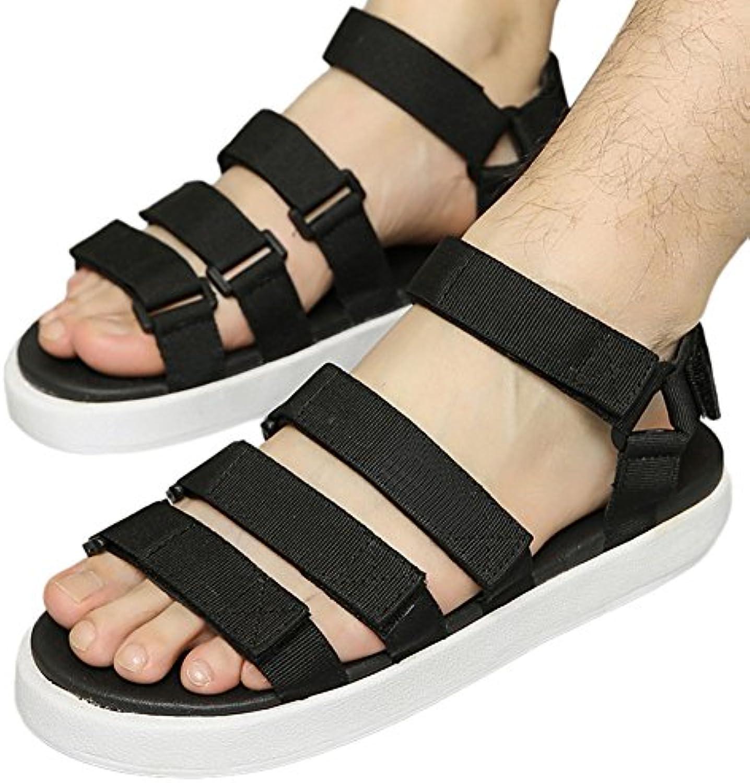 Haodasi Klassisch Männer Atmungsaktiv Strandschuhe Anti Rutsch Hausschuhe Komfort Sandalen Sport