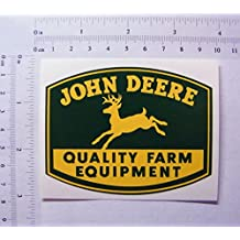 The Cool Graphic John Deere farbiger Pegatinas, 89 mm x 68 mm, S068