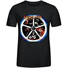 Marillion Real To Reel Printed T Shirts For Men Crew Neck