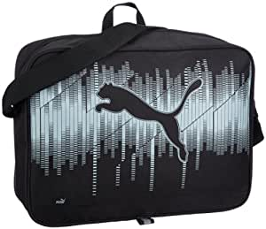 PUMA Umhängetasche Echo, black-high-rise, 40 x 30 x 12 cm, 12.5 liters, 071121 01